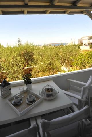 Two-bedroom Family Apartment Ground Floor Anixis balcony