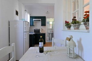 accommodation anixis studios kitchen
