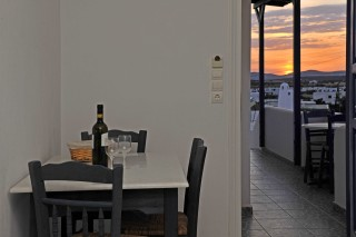 accommodation anixis studios sunset view