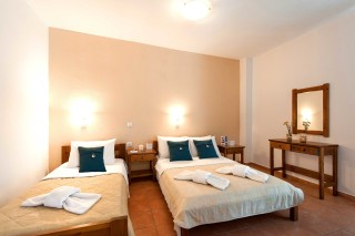 accommodation anixis studios triple rooms